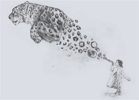 bubbles the snow leopard by darel threadless