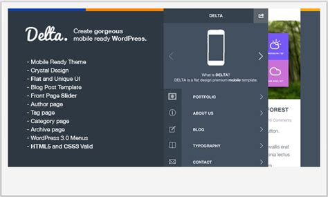 download theme for jquery mobile 15 spectacular jquery mobile wordpress templates wp template