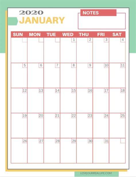 printable  calendars love  real life