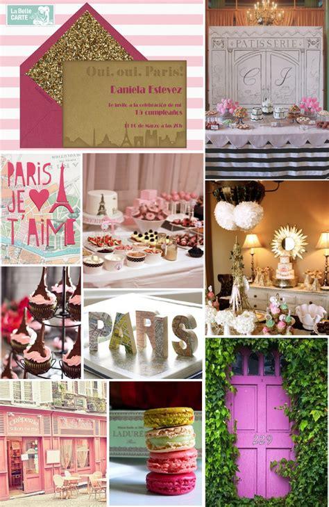 ideas de decoraciones para quinceaneras tema paris junio 2013 la belle blog