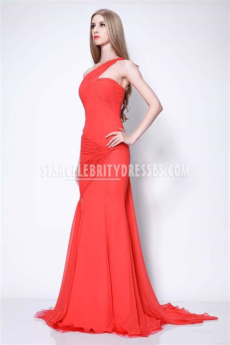 Carpet Free Shipping by Sofia Vergara Red Carpet Dress In Emmys Red Chiffon One