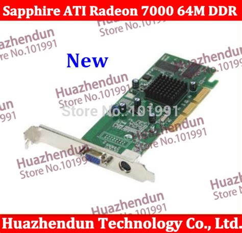 Vga Card Low End aliexpress buy best choice for low end agp card brand new sapphire ati radeon 7000