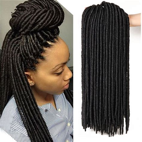 how many bags of pre twisted jaimaican hair is needed 120strands 20 faux locs micro dreadlocks pre looped