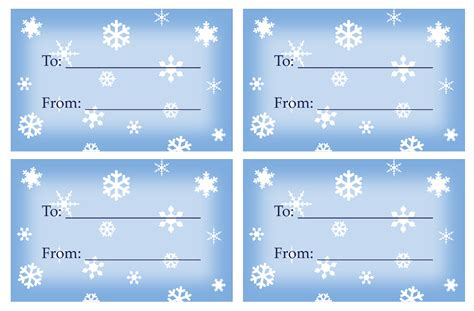 printable holiday gift tags template 6 best images of large gift tags printable templates