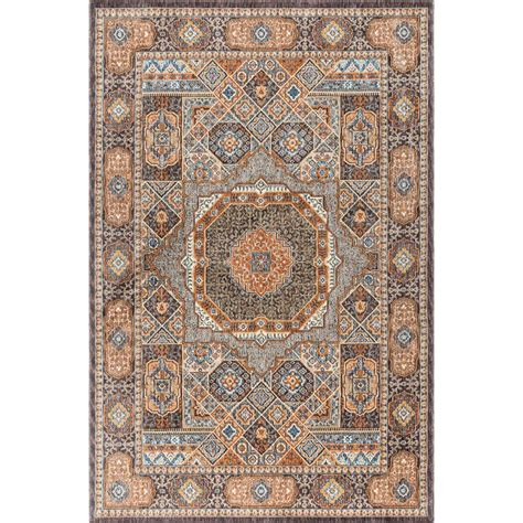 12 foot runner rugs tayse rugs fairview multi 9 ft 3 in x 12 ft 6 in area rug fvw3101 9x13 the home depot