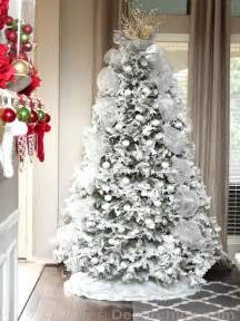 white christmas tree archives decorchick