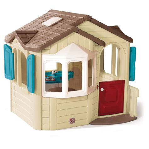 plastic playhouses cool outdoor toys