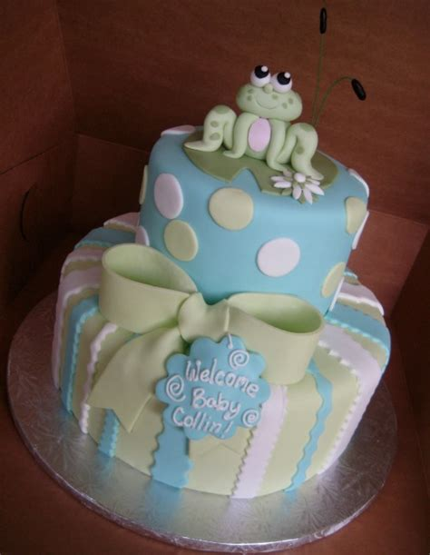 Frog Baby Shower by Frog Baby Shower Cake Princess And The Frog Baby Shower