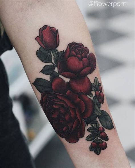 deep red rose tattoo 36 beautiful ideas for everyone styleoholic