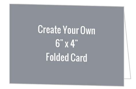 make your own card with photo create your own 6x4 folded card create your own cards