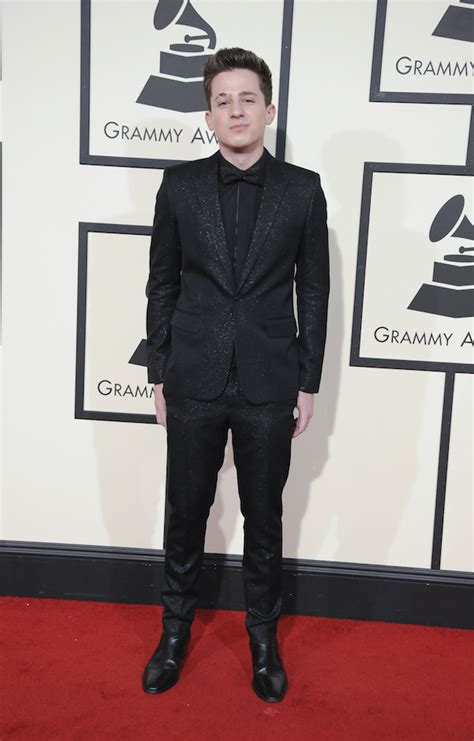 charlie puth grammy dlisted the 58th annual grammy awards arrivals