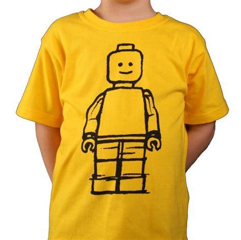 T Shirt Oceanseven Lego A yellow lego minifigure t shirt