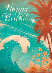 happy birthday hawaii cake ideas and designs
