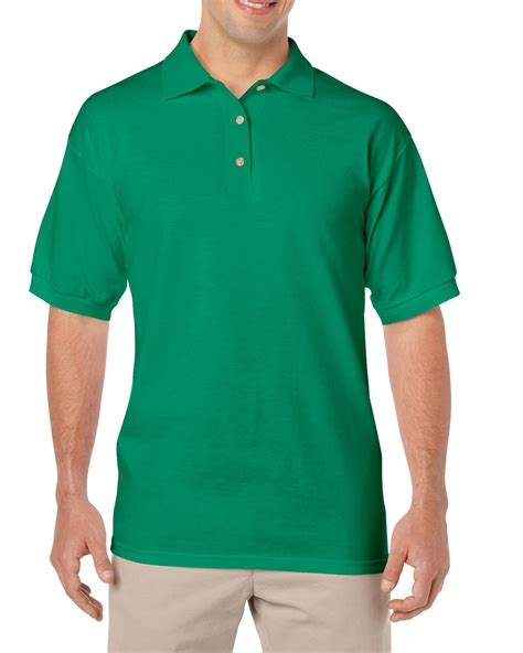 Polo Shirt Greenlight Patch Poloshirt 226061712 Greenlight gildan g880 6 oz 50 50 jersey polo tjm promos