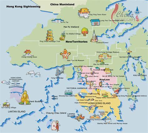 hong kong map hong kong maps