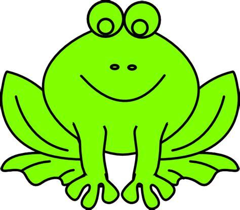 frog clipart green frog clip at clker vector clip