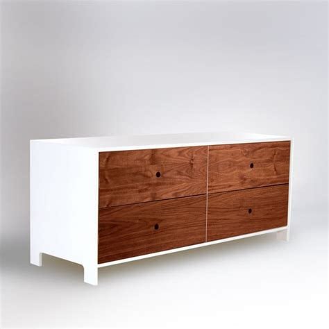 Low Dresser With Drawers by Ducduc 4 Drawer Low Dresser Modern