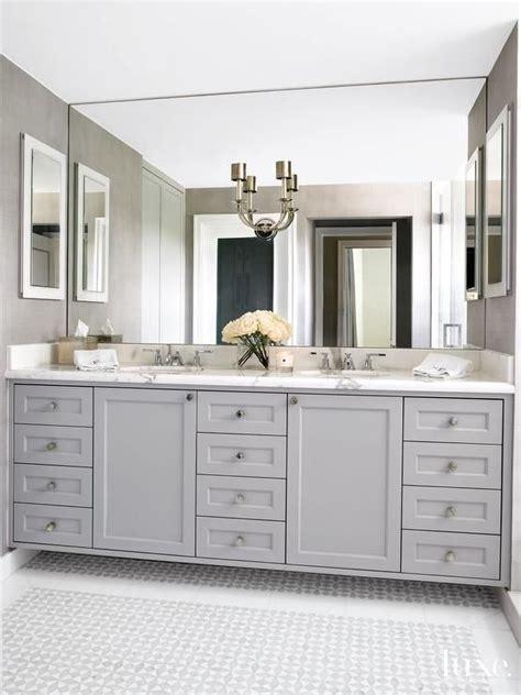 gray bathroom mirror 1000 ideas about gray bathroom vanities on