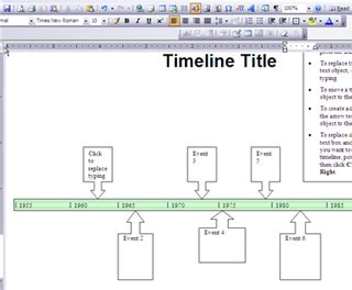 100 timeline word template office timeline 1 free