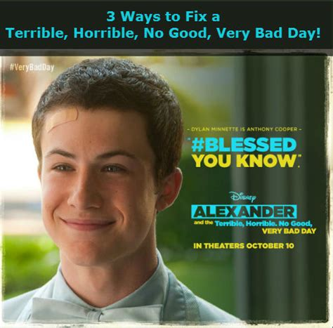 Ways To Fix A Bad Day by 3 Ways To Fix A Terrible Horrible No Bad Day