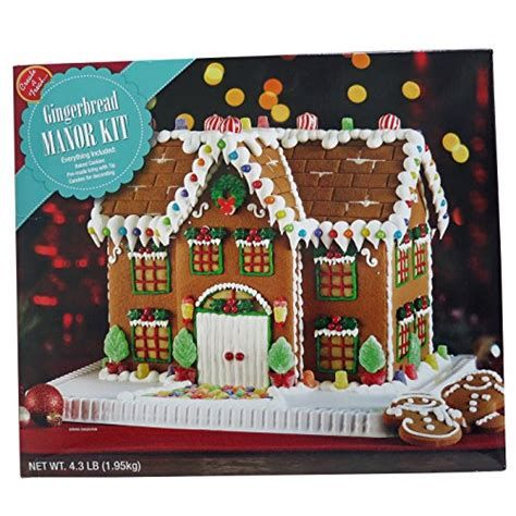 best gingerbread house kit deluxe gingerbread manor house kit special days gift