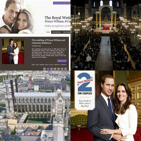 where do william and kate live wedding website popsugar tech