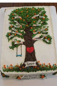 Tree Decorations For Cakes by Best 25 Tree Cakes Ideas On