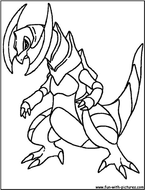 Mega Garchomp Ex Coloring Pages Coloring Pages Garchomp Coloring Pages