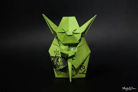 Master Yoda Origami - 85 beautiful exles of origami work snaps