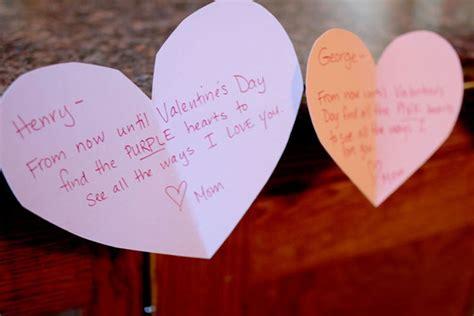 valentines treasure hunt s scavenger hunt to find the ways i you