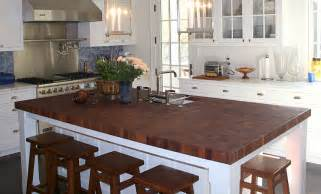 Kitchen Islands Ideas With Seating butcher block island butcher block countertops photos