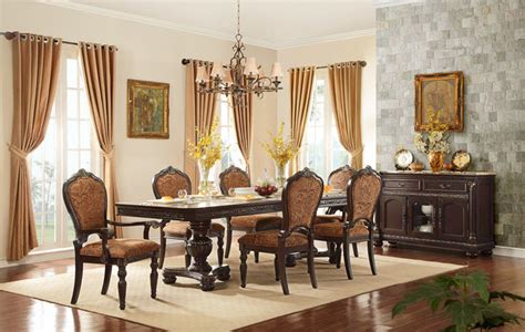 traditional formal dining room furniture cleopatra ornate traditional cherry formal dining room