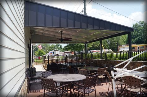 Restaurant Patio Covers & Outdoor Dining Canopies