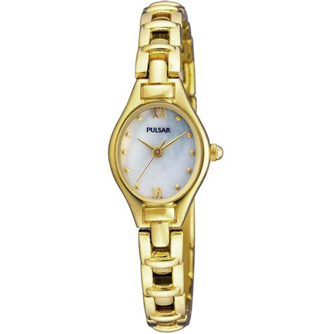 pulsar pc3268x1 gold plated of pearl