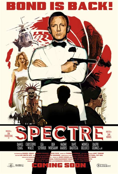 film james bond zwolle m spectre poster art by haserot james bond