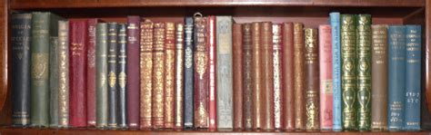 some bookshelves pining for the west