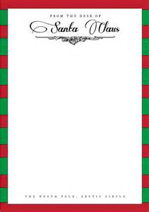 Letter From Santa Word Template Free by Best Photos Of Letter From Santa Template Word Letter