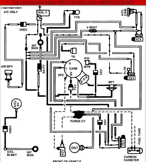 i need a vacuum diagram for an 1989 jeep larado 1989 ford ranger vacuum diagram auto engine and parts