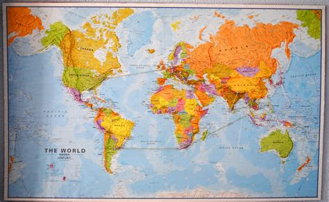 the entire world map of the whole world