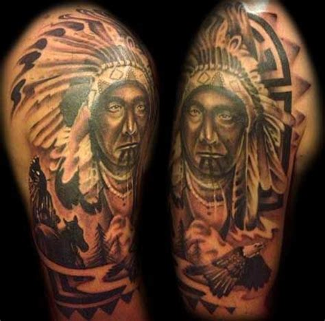 indian warrior tattoo designs 78 best images about american tattoos on