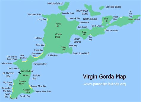 bvi map gorda map