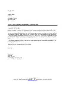 collections notice template collections letter template notice sle resume 2017
