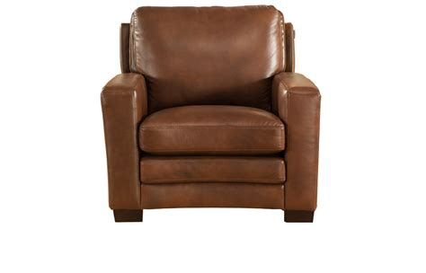 Joanna Full Top Grain Brown Leather Chair