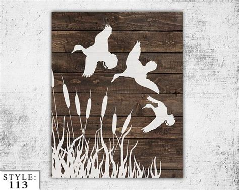duck hunting home decor wooden ducks sign 11 quot x14 quot home decor outdoors hunting