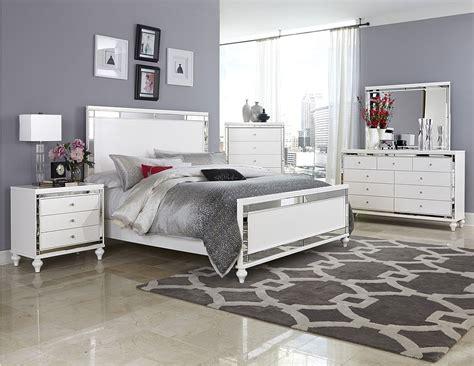 pc homelegance alonza beveled mirror frame bedroom set