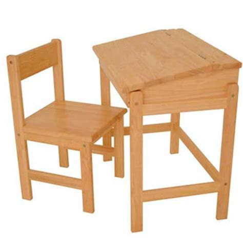 Rubberwood Child S Desk Children S Desks Housetohome Co Uk Desk And Chair