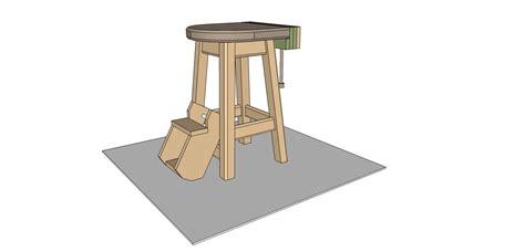 work bench stools flair woodworks shop stool build off trevor s workshop
