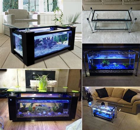 Aquarium Coffee Table Diy Spectacular Diy Fish Tank Coffee Table Free Guide And Tutorial
