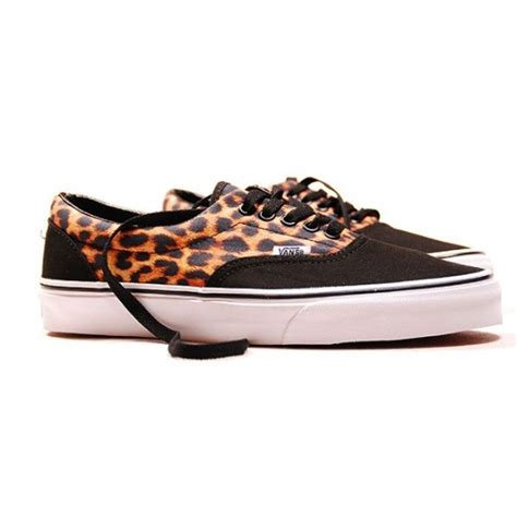 Vans Era For 02 vans era leopard sneakers addict
