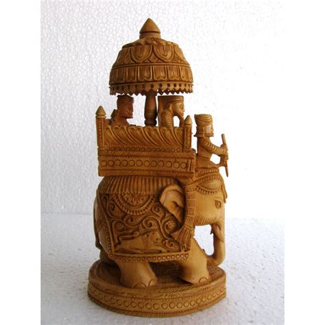 home decor handicrafts wooden elephant figurine